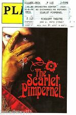 """Terrence Mann """"SCARLET PIMPERNEL"""" Christine Andreas 1997 Opening Night Playbill"""