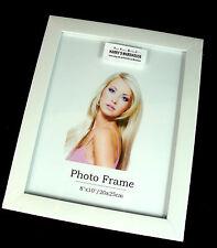 "6 x  Picture Photo 8"" x 10""  Frame Frames white  Wholesale Bulk Lots New"