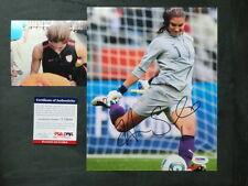 Hope Solo Hot! signed Us soccer 8x10 photo Psa/Dna cert Proof!