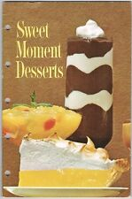 Vintage 1966 Sweet Moments Desserts Jell-O Puddings Dream Whip Topping Recipes