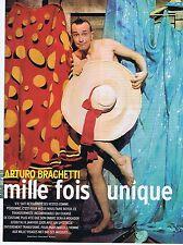 Coupure de presse Clipping 2004 Arturo Brachetti  (3 pages)