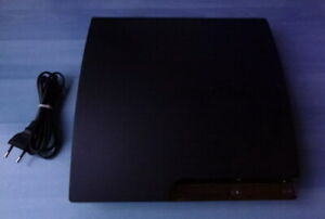 Sony Playstation 3 PS3 120GB CECH-2004A Slim FW: 4.85  FUNKTIONIERT PERFEK'T