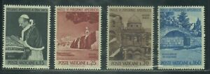 Vatican Stamps  1964 Pope Paul VI Visit to Holy Land complete set MNH