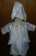 1974 Vintage Baby Girls Baptism Baptismal Christening Gown 6-12 Months
