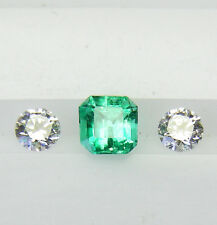 NATURAL 0.43ct!! COLOMBIAN EMERALD NATURAL COLOUR +CERTIFICATE AVAILABLE