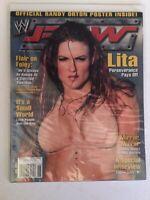 WWE Raw Magazine 2004 July Lita Perseverance Pays Off Ric Flair Mick Foley WWF