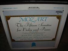 SZIGETI / HORSZOWSKI / MOZART 15 fifteen sonatas violin piano 2 ( classical box