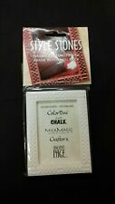 Colorbox Style Stones inkable photo Frames Checkered Frame Blank easel back