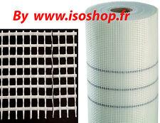 Trame fibre de verre Coloris Blanc Maille 4x4 mm, 50 m2 70 g/m2