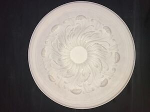 Plaster Ceiling Rose, Medium Flower design. 500mm wide. CP41