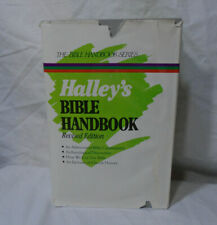 HALLEY'S BIBLE HANDBOOK - REVISED EDITION * 1987 * HC DJ Book