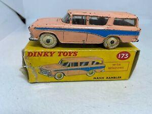 Dinky Toys 173 Nash Rambler with windows Boxed