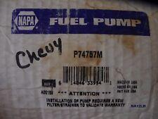 Chevrolet Fuel Pump Assembly Napa P4757M