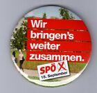 M05)SPÖ, Button, Wir bringens´s weiter zusammen, 18. September