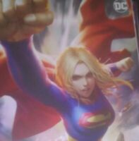 SUPERGIRL #37 - Card Stock Variant - DC Comics - YotV dark supergirl