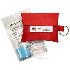 CPR Mask Keychain, MCR Medical w Ambu Face-Shield
