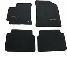 Genuine Oem New Dark Chorcoal Carpet Floor Mats For Toyota Corolla Nap Fits 2012 Toyota Corolla