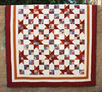 Double Friendship Star quilt pattern by Cozy Quilt Designs