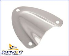 Mini Clam Vent - Stainless Steel 40mm X 13mm - Deck Hardware - Boat Vents