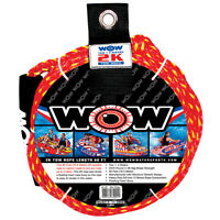 Tube Tow Rope 2 Rider 60ft Float Tubing Water Sports Towable WOW Water Sports