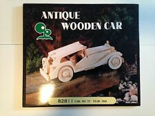 Green Point 1945 MG TC Wooden Car Kit Brand New, Unbuilt, Unopened