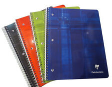 Clairefontaine Classic Wirebound Notebook - Lined, 3-Hole Punched - 8x11 - #8267
