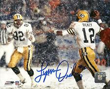 Packers LYNN DICKEY Signed 8x10 AUTO Photo #1 GBP HOF'ers - w/ Paul Coffman