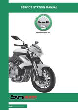 Benelli BN600 Motorcycle Service Station Workshop Manual (0434)