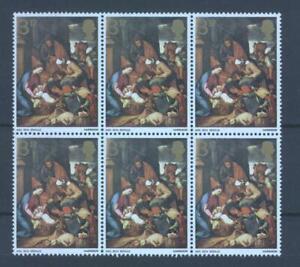 GB 1967 Christmas 3d, SG 756d phosphor omitted, MNH