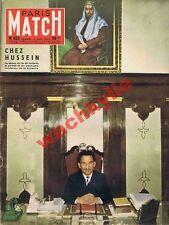 Paris Match n°423 du 18/05/1957 Hussein Jordanie Israël Cannes Tahiti boxe Suède