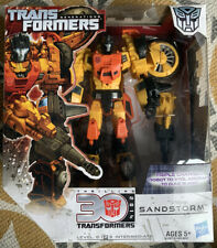 Transformers Generations Voyager Sandstorm Complete And Boxed