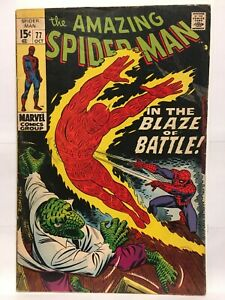 Amazing Spider-Man #77 FN- (5.5) 1st Print Marvel Comics