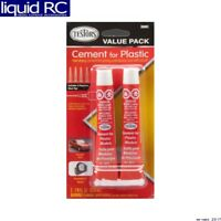 Testors 3509C Cement Value Pack (2) 7/8 Fl Oz Tubes