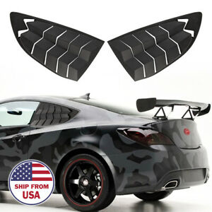 Fit For Hyundai Genesis Coupe 2010-2016 Side Window louvers Scoops Windshield