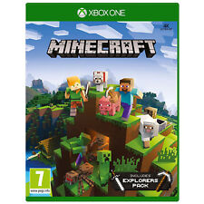 Minecraft Xbox One 1 Game includes Explorers DLC Pack NEW & SEALED UK PAL
