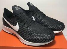Nike Mens Sz 11 WIDE 4E Air Zoom Pegasus 35 Black White Running Shoes 942854 001