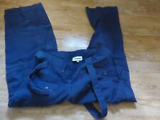 UK size 12 KICKERS Walking Casual Backpacking Travel Trousers NAVY BLUE