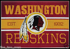 WASHINGTON REDSKINS FOOTBALL NFL LICENSED VINTAGE TEAM LOGO INDOOR DECAL STICKER