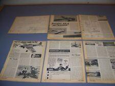 VINTAGE..DOUGLAS AD-6 SKYRAIDER... .60 ENGINE R-C PLANS..RARE! (137P)