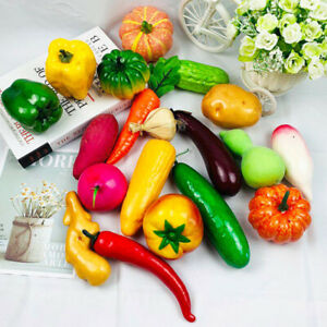 Foam Realistic Simulation Peppers Imitated Vegetables Decor Home Props Deoration