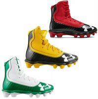 New Youth Under Armour UA Highlight RM Junior Football Cleats-Pick Color & Size