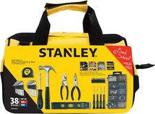 Stanley Home Repair Kit Tool Diy Set 38 Mixed Piece Case Mechanics Household