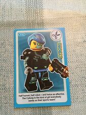 SAINSBURYS LEGO INCREDIBLE INVENTIONS 2018 CARD No. 115 - Cyborg