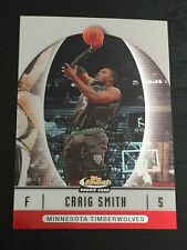 2006-07 Finest CRAIG SMITH RC #60 basketball card ~ Timberwolves rookie ~ F1