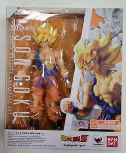 Bandai Tamashii SH Figuarts Dragon Ball Z SUPER SAIYAN GOKU AWAKENING VER. MISB