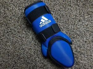 Adidas Pro Series Baseball Foot Guard Batter Leg Ankle Adult Royal Blue AZ9659
