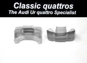 2 x SEAT CENTRE GUIDE PIECES AUDI UR QUATTRO TURBO COUPE/COUPE B2 200/100/90/80