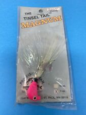 "Vintage Fishing Lure ""Tinsel Tail Magnum Jig�"