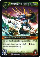 WOW King Bagurgle, Terror of the Tides 152/198 CROWN NEW PROMO FOIL MINT ENG