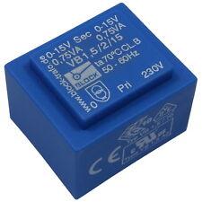 Block VB1,5/2/15 Trafo Printtrafo 1,5VA 2x15V Netztrafo Transformator 857687
